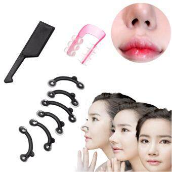 1 Set Nose Up Lifting Shaping Clip Clipper Shaper Beauty Tool 3Size No Pain Nose Clips - intl