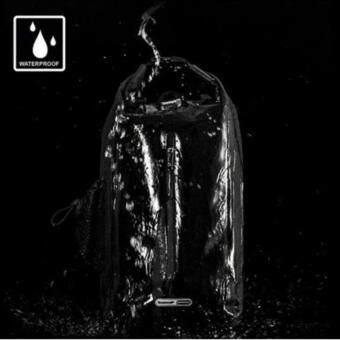 """2561 กระเป๋าเป้กันน้ำ 100% สไตล์ถุงทะเลมีสายสะพาย มีช่องใส่แล็ปท็อป15"""" ความจุขนาด 25L Rhinowalk รุ่น TF710 (สีดำ)"""