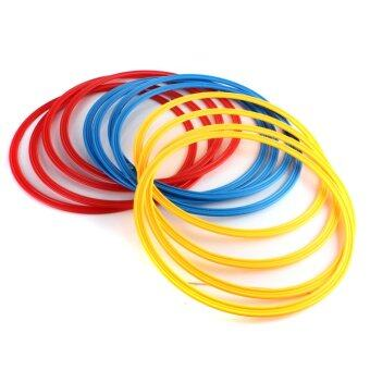 Harga 12 PCS Innovations Speed Agility Training Rings Multi Color SoccerBasketball