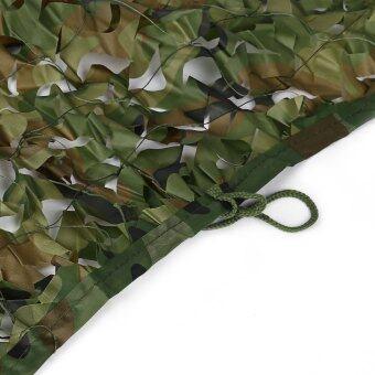 1.5เมตร X 2เมตร ตั้งแคมป์ล่าสัตว์ป่าเต็นท์รถทหารปิดพรางตาแหตาข่ายอ็อกซ์ฟอร์ด