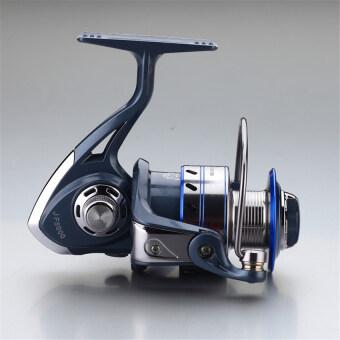 2559 คุณภาพสูงเทคโนโลยีสุดยอดรอกตกปลาร้อน Allblue 12BB+1ลูกหมุนแบบลูกปืน 7000 เรือประมง ABJF รอกโยกพวงมาลัย (ทะเลสาบสีฟ้า)