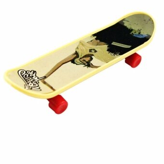 2Pcs Kids Funny Toy Fingerboard Skate for Boys and Girls EducationToy Gift - intl