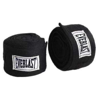 2pcs/roll(3M) Boxing Hand Wraps Cotton Bandage Sports Absorb SweatBoxing Binding MMA Protect Belt - intl