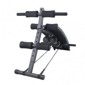 360 Ongsa Fitness เบาะนั่งซิทอัพ Fitness Sit Up Bench รุ่น AND-6455 (สีดำ) ฟรี!!ดัมเบล+สายแรงต้าน+push up bar (image 3)