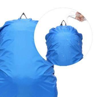 ฝุ่นกันน้ำท่องเที่ยว 360DSC ผ้าคลุมกันฝนสำหรับกระเป๋าเป้ Packsack35ลิตร-สีน้ำเงิน