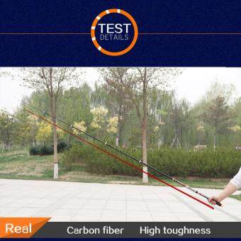 3.6M Carbon fiber Portable Ultralight Travel Telescopic Fishing RodSea Spinning Pole - intl - 5
