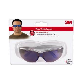3M Safety Eyewear Blue Mirror Lens แว่นตานิรภัย 3เอ็มเลนส์สีน้ำเงิน