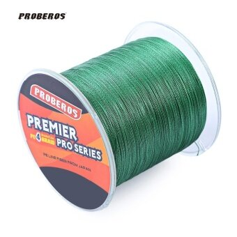 50LBS 500M PE Monofilament Fishing Line Strong 4 Strands BraidedWire - intl