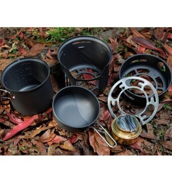 7pcsset Camping Stove Cooking