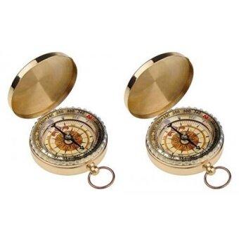 Actopus 2PCS Copper Compass