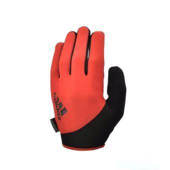 Adidas ADGB-12422OR ถุงมือออกกำลังกายเต็มนิ้ว Essential Gloves (สีส้ม) M