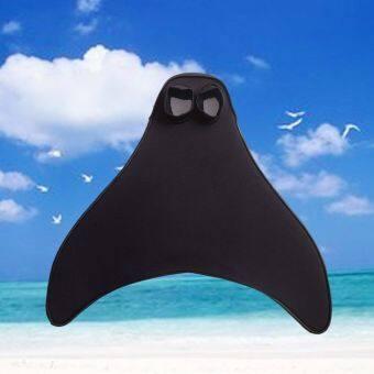 รีวิว Adjustable Fins adult Flipper Mermaid Shoes Siamese Whale TailFlippers Swimming Accessories-Adult – intl