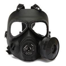 บอล Airsoft ยุทธวิธีการป้องกันเกมครึ่งใบหน้าสวมหน้ากากป้องกันภัย