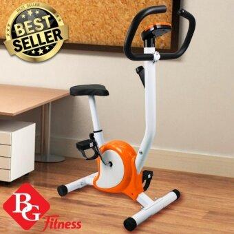 B&G Exercise Bike จักรยานออกกำลังกาย (Orange) - รุ่น YS01