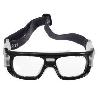 Basketball Soccer Football Sports Protective Elastic Goggles Eye Safety Glasses Black - intl