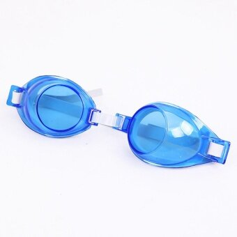 Boys And Girls Students Silicone Waterproof Swimming SwimmingGlasses - intl