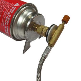 -BRS 17B เตาแก๊สตัวเชื่อมต่อตัวเชื่อมต่อการแคมป์ครัวกลางแจ้งข้อต่อ- Intl