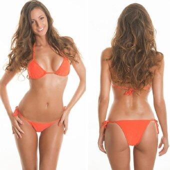 BUYINCOINS 2014 Hot Women's Bikini Push-up Bra Swimsuit BathingSuit Swimwear Set