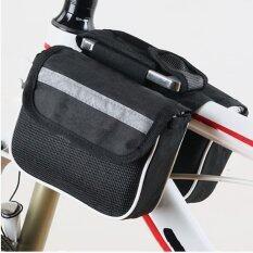 CMA กระเป๋าพาดเฟรมจักรยาน - สีดำ