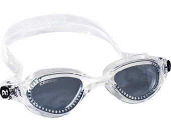 2561 Cressi Flash Swim Goggles Mask (White/Smoke)