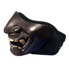 หน้ากากกันลมกันฝุ่น Devil รุ่น Mask455 (Brown)