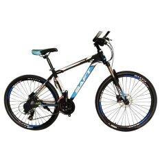 """EXPERT GROUP SAFT จักรยานเสือภูเขา 26"""" 24 เกียร์ SHIMANO โช้คหน้าปรับได้ ( สีฟ้า/ดำ )"""