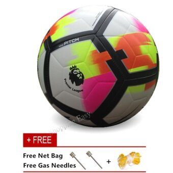Harga Football 2017/2018 Premier League New Season Premier League SIZE 5PU Soccer Ball - intl
