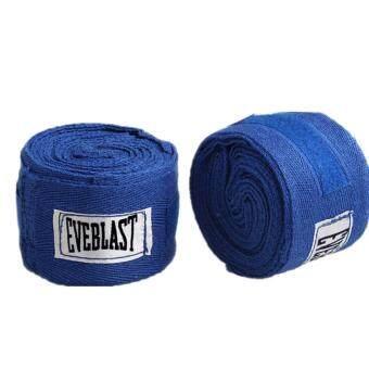 ผ้าฝ้ายป้องกันเข็มขัด Hand Wraps Blue - intl