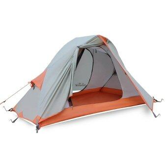 Hewolf 1-2 Person 4 Seasons Waterproof Outdoor Camping Tent withCarry Bag - Intl