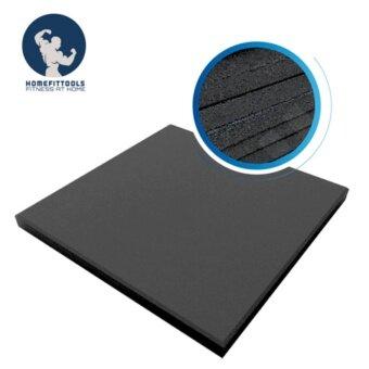 Homefittools - แผ่นบล๊อกยางกันกระแทก Rubber Tile 1 M.x1 M. หนา 25mm