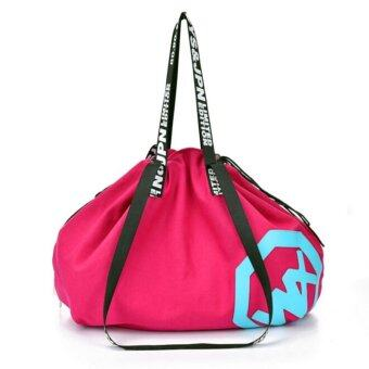 Harga Large Big Holdall Gym Bag/Sports Bag For SPORT TRAVEL WOMEN FITNESS YOGA GYM BAG - intl