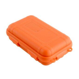 Harga Aukey Outdoor Airtight Plastic Waterproof Box (Orange)