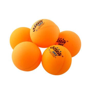 Harga 6Pcs 3 stars DHS 40MM Olympic Tennis Orange Ping Pong Balls Competition - intl