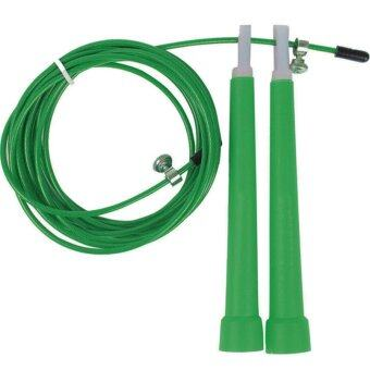 Harga Jetting Buy Steel Wire Adjustable Jumping Rope (Green)