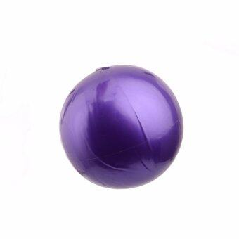 Harga HengSong Purple 25cm Diameter Small Yoga Ball Pilates Massage Ball Thicker Explosion-proof Inflatable Bodyball Fitness Ball Slimming Equipment - intl