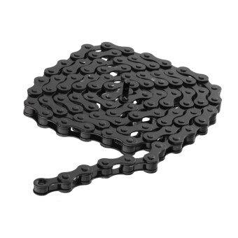 "Harga BolehDeals Bike Chain Fixed Gear Track BMX Single Speed Chains 1/2"" x 1/8"" Black"
