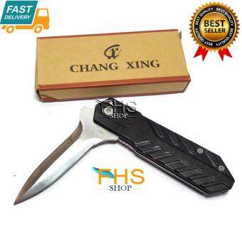 Harga CHANG XING {G007} Foldable Knife Best quality stainess steel blade