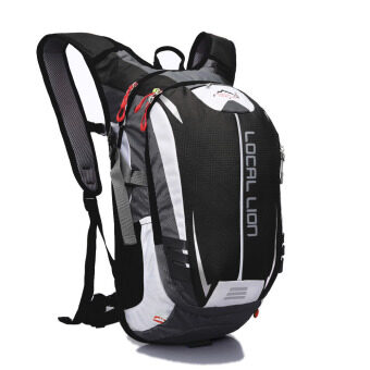 Harga LOCAL LION 18L Water-resistant Breathable Cycling Bicycle Bike Shoulder Backpack Ultralight Outdoor Sports Riding Travel Mountaineering Hydration Water Bag