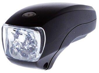 ITandHome ไฟรถจักรยาน ไฟติดแฮนด์จักรยาน Xingcheng 5 LED - สีดำ