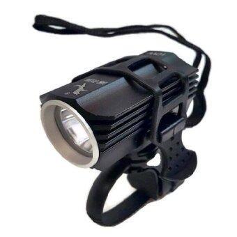 ราคา Kaidee Aluminium Super Bright LED ไฟติดจักรยาน ให้แสงสว่างมากพิเศษ (10W) - สีดำ