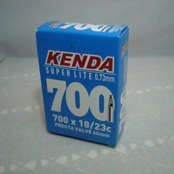 KENDA ยางในรถจักรยาน 700*18/23C 60L super lite F/V (สีดำ)