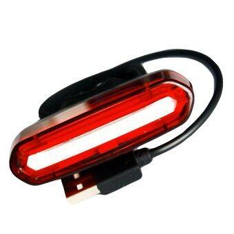 KLBIKE NQY ไฟท้ายจักรยาน ไฟกระพริบ แบบชาร์ตได้ สามารถสลับได้ 2 สี(สีแดง-สีน้ำเงิน)
