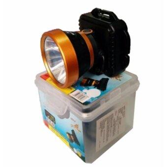 ไฟฉายคาดศีรษะ LED รุ่น MP-9300 600W กันน้ำได้ ( แสงสีเหลือง )