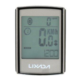 LIXADA มัลติฟังก์ชั่น 3ใน1จอคอมพิวเตอร์ไร้สายรถจักรยานการขี่จักรยานด้วยอัตราการเต้นของหัวใจตรวจหน้าอกเสียดรัดทนน้ำ