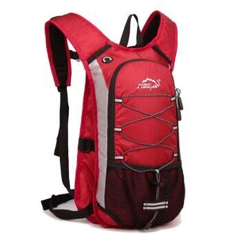 ซื้อ/ขาย Local lion cycling bag กระเป๋ากีฬา กันน้ำ เป้สะพายหลัง สำหรับปั่นจักรยาน ขนาด 15L (สีแดง)