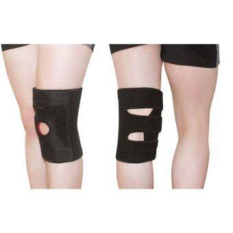 Lotte NPT สายรัดหัวเข่า ป้องกันการกระแทก จากการออกกำลังกาย ปรับได้Knee Support Belt