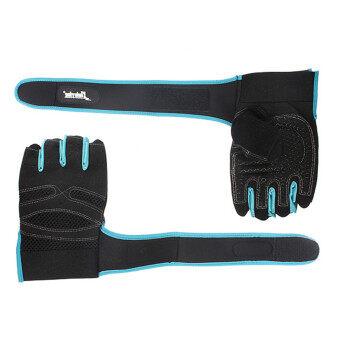 น้ำหนักการฝึกอบรมยกถุงมือ (สีน้ำเงิน M)