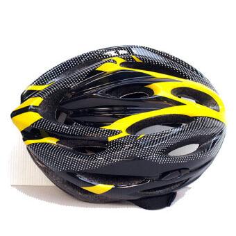 หมวกจักรยาน Macanic-V-101 (สีดำ/เหลือง) (image 1)