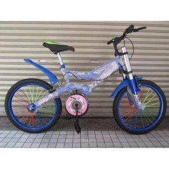 """ประเทศไทย จักรยาน Master Swing Arm Bicycle 16"""" สีน้ำเงิน"""