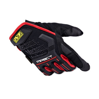 Mechanix Motorcycle Gloves Men Tactical Motorbike Outdoor Sport Gloves Red(Size:L)